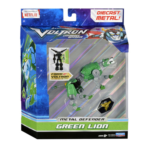 Green Lion Voltron The Legendary Defender Diecast Figure