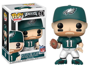 Carson Wentz Funko Pop! NFL Wave 4 Not Mint