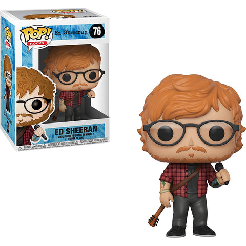 Ed Sheeran Funko Pop Rocks