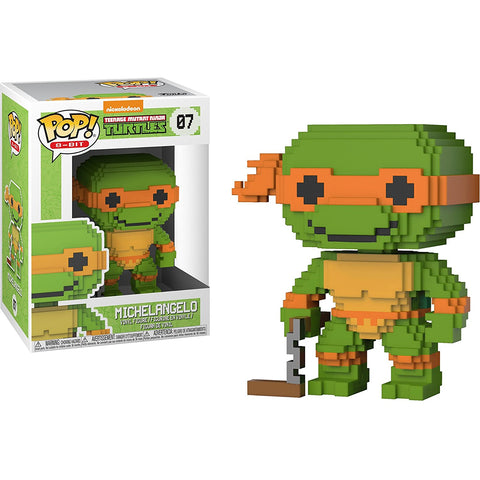 Michelangelo Funko Pop! 8-Bit Teenage Mutant Ninja Turtles