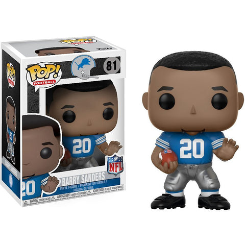 Barry Sanders Funko Pop! NFL Legends
