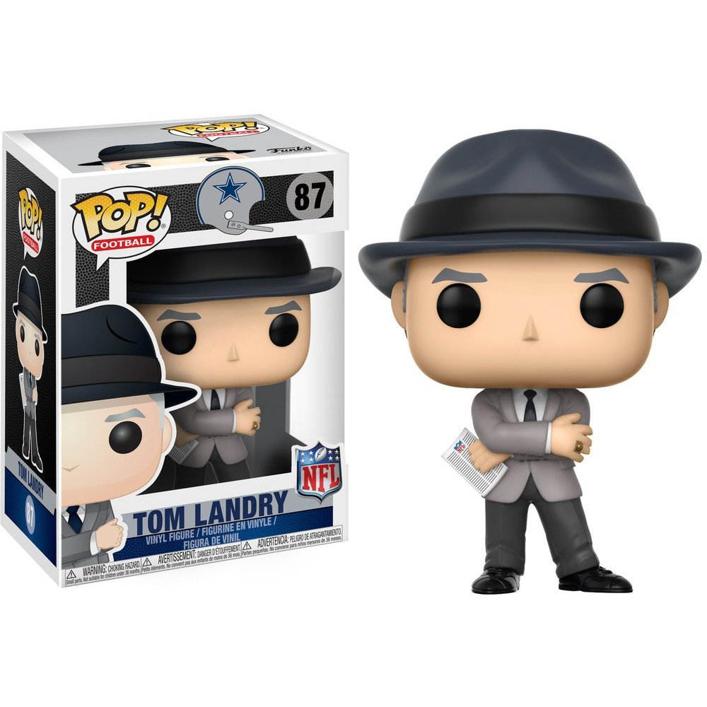 Tom Landry Funko Pop! NFL Legends
