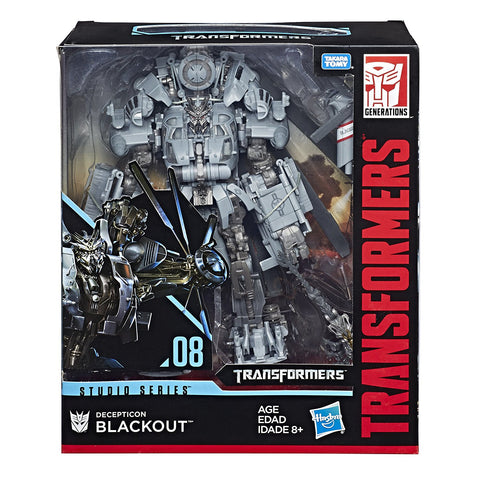 Decepticon Blackout Transformers Studio Series Leader Class