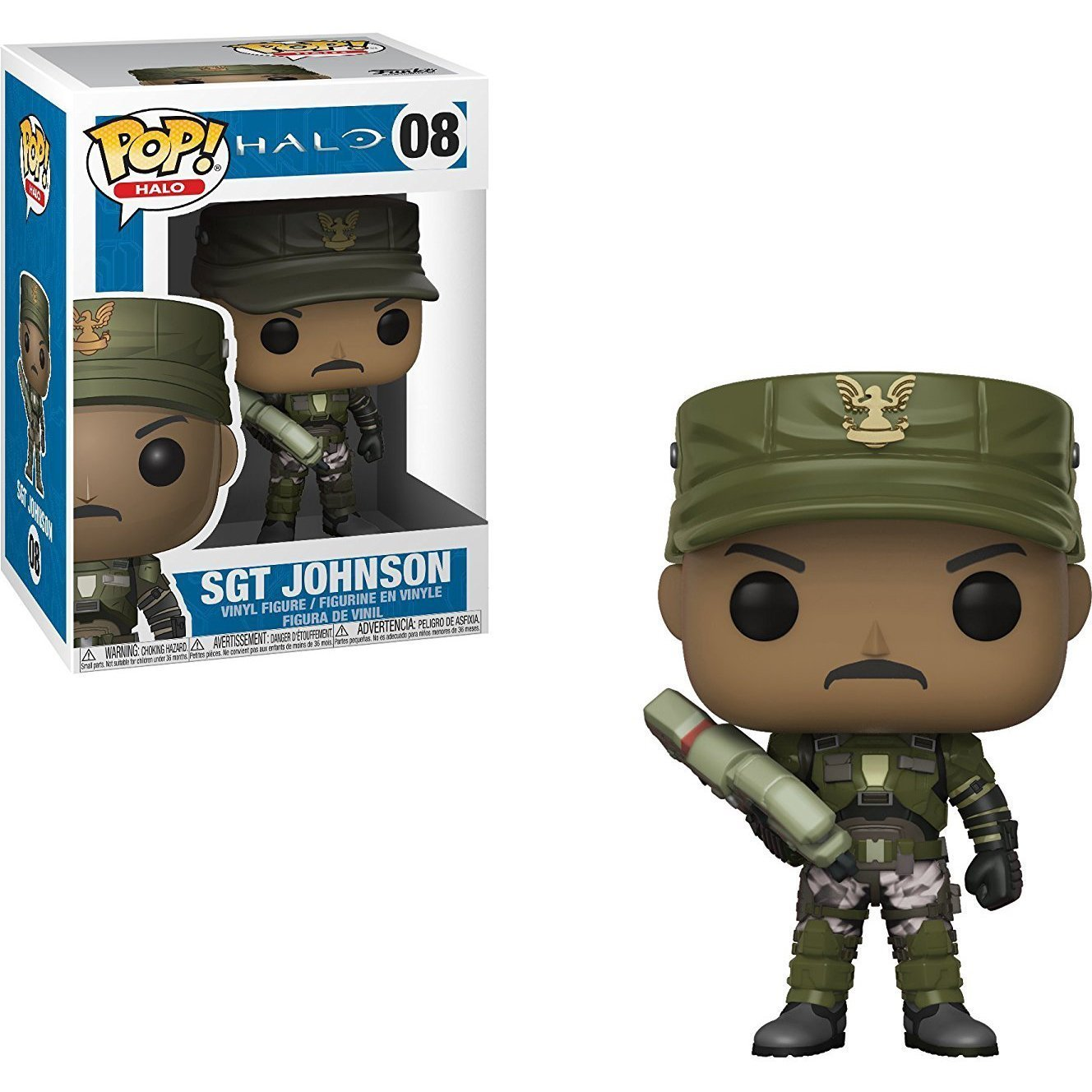 Sgt. Johnson Funko Pop! Games Halo