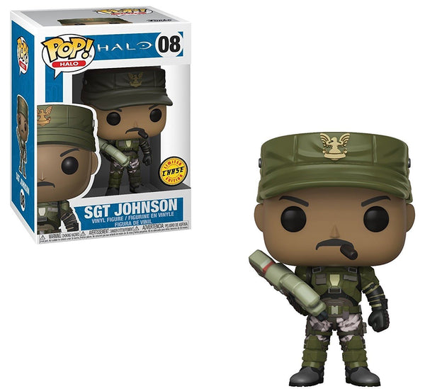 Sgt. Johnson Chase Funko Pop! Games Halo
