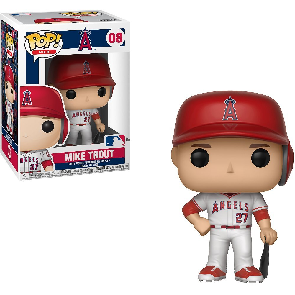 Mike Trout Funko Pop! MLB Los Angeles Angels