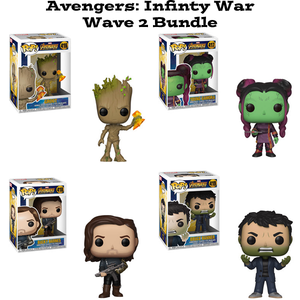 Avengers Infinity War Wave 2 Funko Pop Bundle