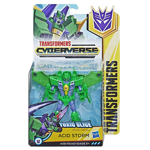 Acid Storm Transformers Cyberverse Warrior Class