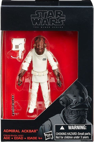 Admiral Ackbar Star Wars Black Series 3.75-Inch