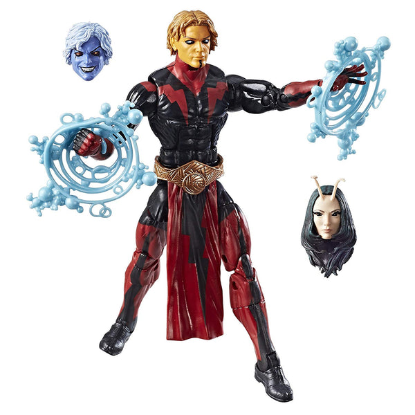 Adam Warlock Guardians Of The Galaxy Marvel Legends 6-Inch Action Figure Mantis Build-A-Figure Wave