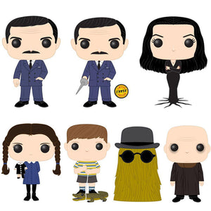 The Addams Family Funko Pop Television Chase Bundle of 7