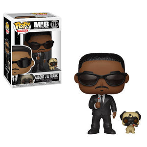 Agent J and Frank Funko Pop Movies Men In Black