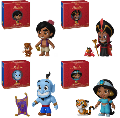 Aladdin Funko 5 Star Bundle