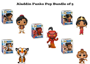 Aladdin Funko Pop! Disney Bundle