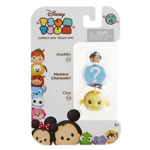 Aladdin and Cleo Disney Tsum Tsum Series 4 Minifigure 3-Pack