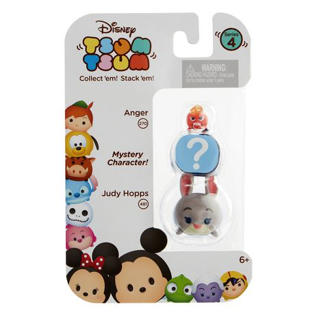 Anger and Judy Hopps Disney Tsum Tsum Series 4 Minifigure 3-Pack