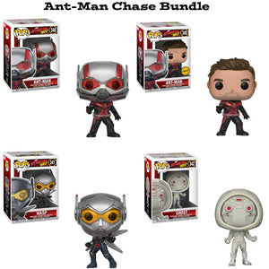 Ant-Man Funko Pop! Marvel Chase Bundle