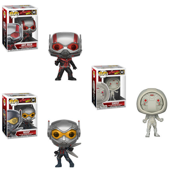 Ant-Man & The Wasp Funko Pop! Movie Bundle