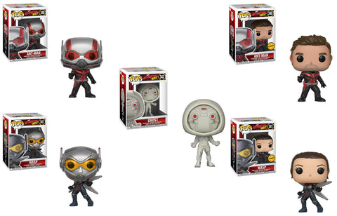 Ant-Man & The Wasp Funko Pop! Marvel Chase Bundle