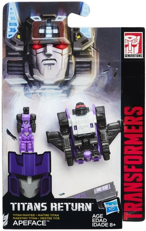 Apeface Transformers Generations Titans Return Masters