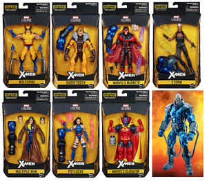X-Men Marvel Legends Apocalypse Build-A-Figure Wave
