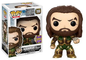 Aquaman and Motherbox Funko Pop! Justice League Movie Exclusive