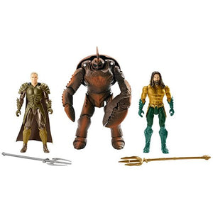 Aquaman vs Brine King and Orm Action Figure 3-Pack