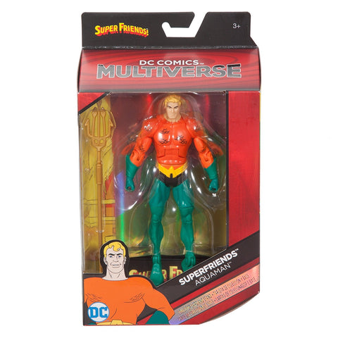 Aquaman DC Comics Multiverse Superfriends Action Figure