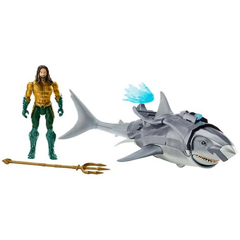 Aquaman and Warrior Shark Aquaman Movie Action Figure 2-Pack