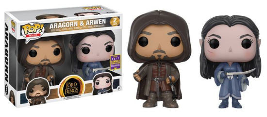 Aragorn & Arwen Funko Pop! Movies Lord of the Rings Exclusive
