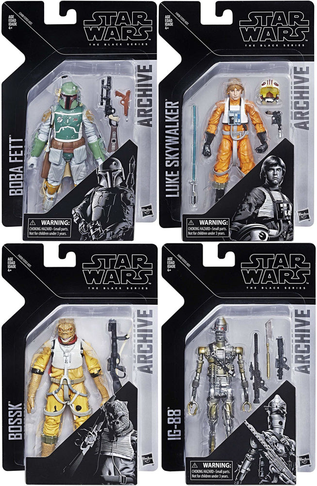 Star Wars Black Series Archive Collection Set Of 4