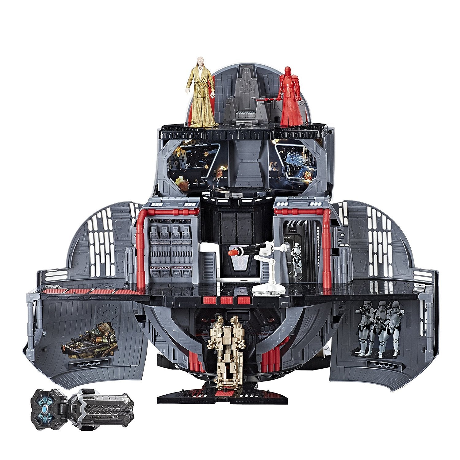 BB-8 Star Wars The Last Jedi 2-In-1 Mega Playset with Force Link and Figures