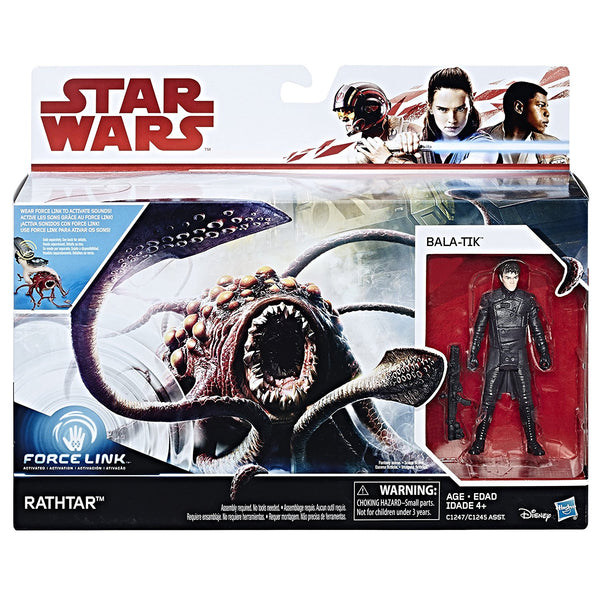 Bala-Tik & Rathtar Star Wars The Last Jedi 3.75 Inch