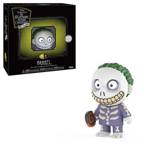 Barrel Nightmare Before Christmas 5 Star Vinyl Figure