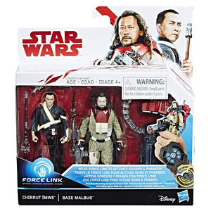 Chirrut Ímwe & Baze Malbus Star Wars The Last Jedi 3.75 Inch 2-Pack