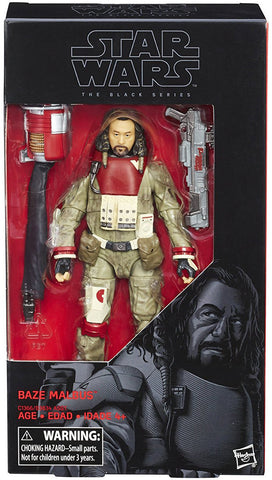 Baze Malbus Star Wars Rogue One Black Series 6-Inch