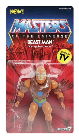 Beast Man Masters of the Universe Super 7 Vintage Series Action Figure