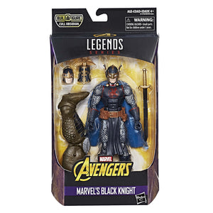 Black Knight Marvel Legends 6-Inch Action Figure Cull Obsidian Wave