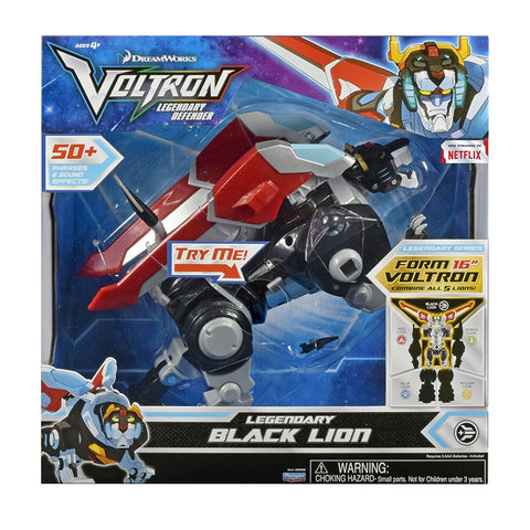 Black Lion Voltron The Legendary Defender Figure