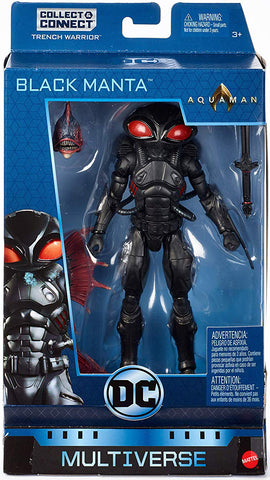 Black Manta DC Comics Multiverse Trench Monster Collect and Connect Action Figure