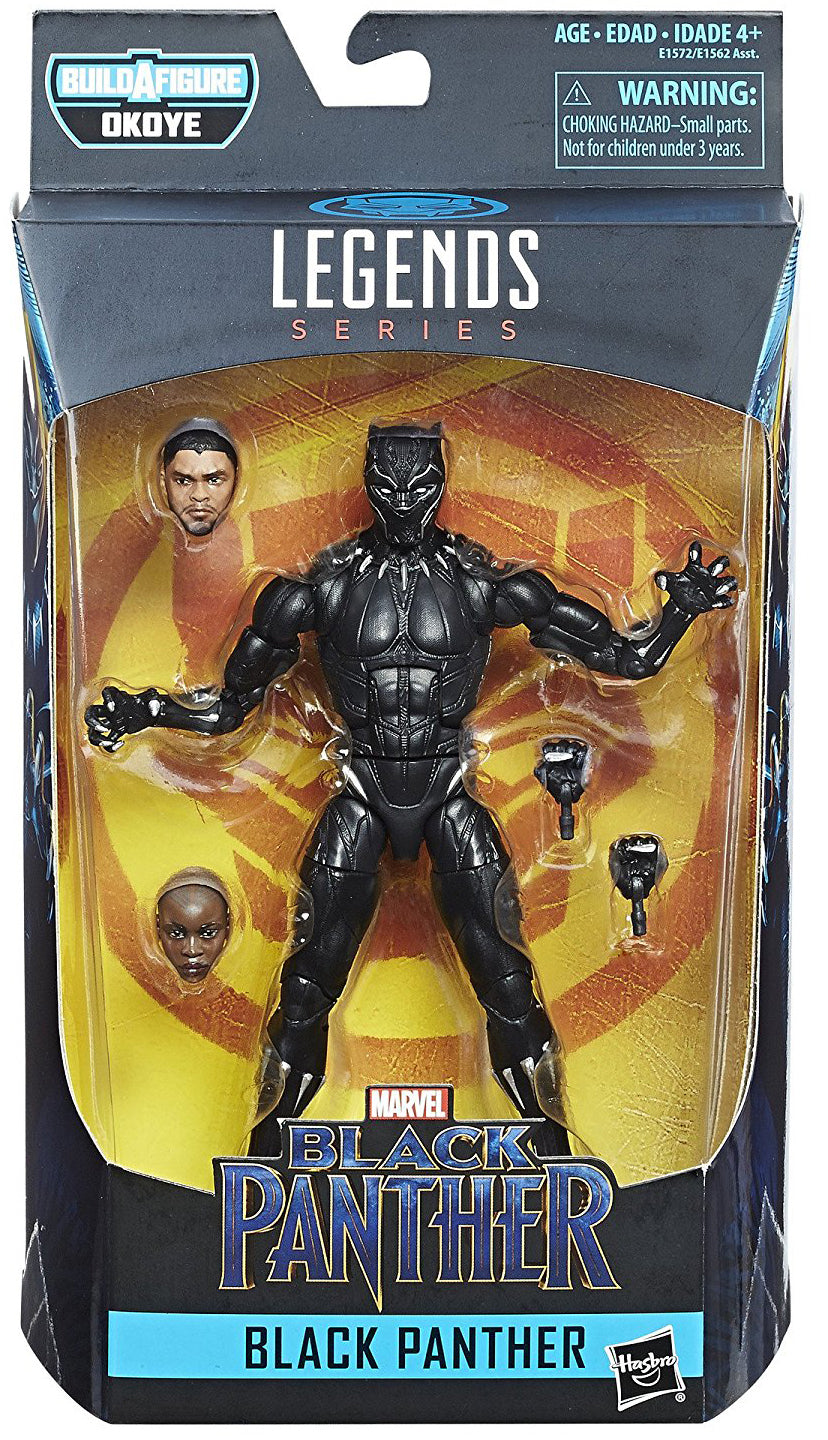 Black Panther Marvel Legends 6-Inch Action Figure