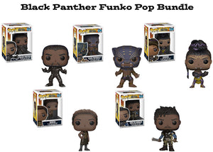 Black Panther Funko Pop! Marvel Bundle