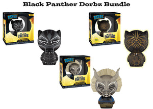 Black Panther Funko Dorbz Marvel Bundle