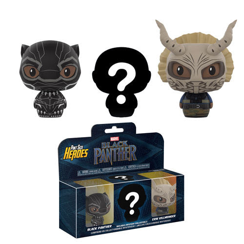 Black Panther Funko Pint Size Heroes 3-Pack