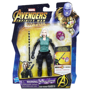 Black Widow with Infinity Stone Marvel Avengers Infinity War Action Figure