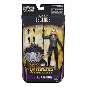 Black Widow Marvel Legends Action Figure Cull Obsidian Wave