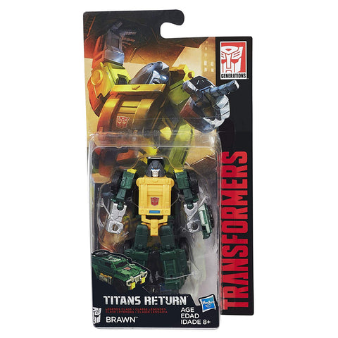 Brawn Transformers Generations Titans Return Legends Class