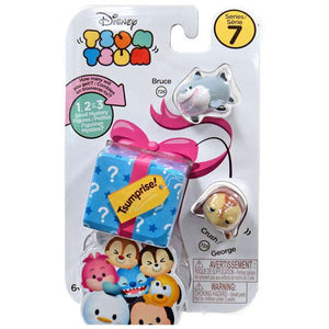 Bruce and Crush Disney Tsum Tsum Series 7 Tsumprise 3-Pack