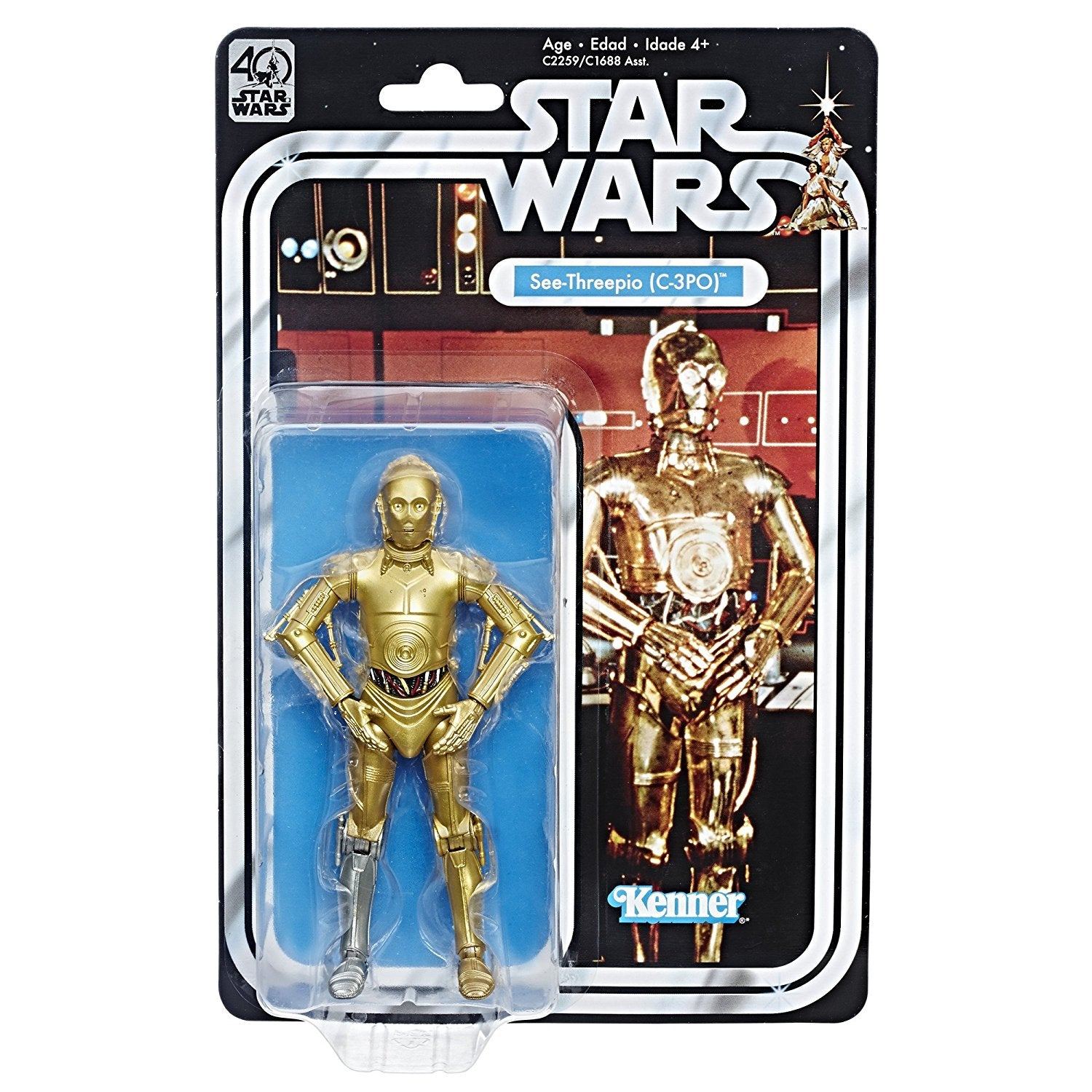 C-3PO Star Wars The Black Series 40th Anniversary 6-Inch