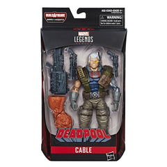 Cable Marvel Legends 6-Inch Action Figure